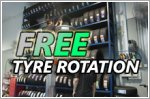 Get free lifetime tyre rotation at these workshops