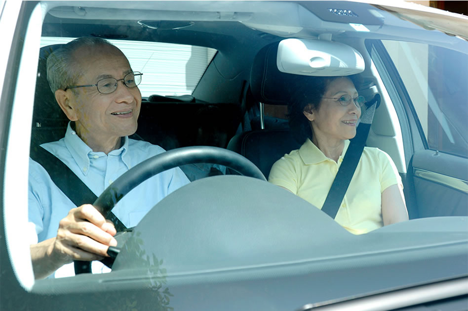 eldery driving