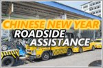 Towing & roadside assistance on duty during CNY
