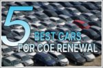 5 cars that are worth renewing COE for