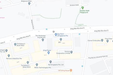 Ang Mo Kio Avenue 5 Map