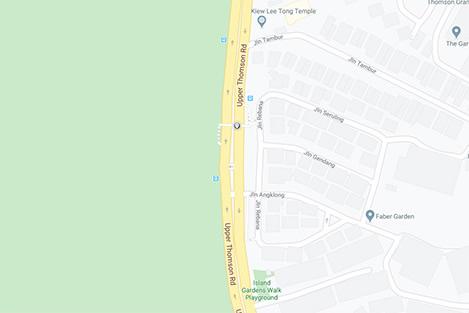 Upper Thomson road Map