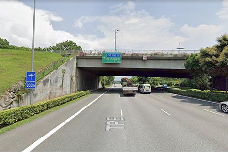 Jalan Kayu flyover