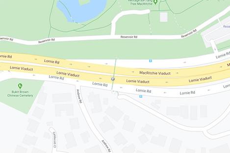 Lornie Road Map