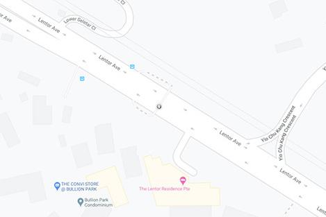 Lentor Avenue Map
