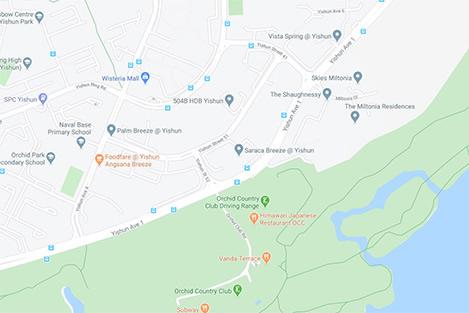 Yishun Avenue 1 Map