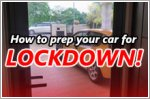 Lockdown?! Here's how to keep your car ready to go