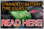 Tyre or battery issues during the circuit breaker period? Read here then...
