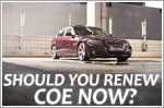 Should I renew my car COE in 2020?
