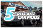 5 types of car aesthetic modifications to do