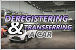 How to transfer vehicle ownership or deregister a car online through LTA