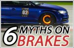 Here's six common myths on brakes