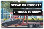 Scrap or Export your car: 7 things to know