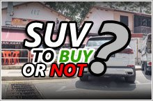 5 things to consider before buying an SUV