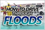 Here's how to drive through flooded roads