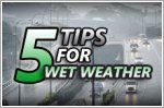 Driving in the wet is no rocket science, here's how you can stay safe