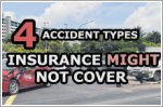 Four types of car accidents in Singapore that car insurance might not cover