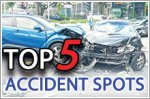 Top five car accident spots in Singapore