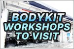 Best workshops to get unique and customised bodykits for your car
