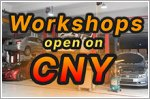 Car workshops still open during CNY
