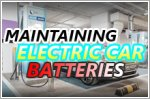 All about maintaining electric car batteries