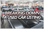 Your guide to understanding a used car listing