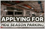 Types of HDB season parking and costs to expect before applying