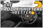Paddle shifters - are they better than a standard manual transmission?