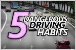 5 dangerous driving habits to watch out for when driving in Singapore