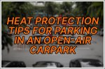 Do you park your car at an open-air HDB car park? Here are some ways to protect it from the heat