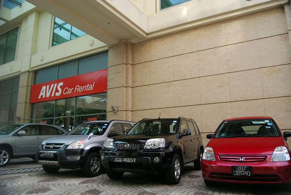 avis singapore car rental companies singapore