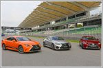 Lexus' exhilaration expedition with the RC and RC F