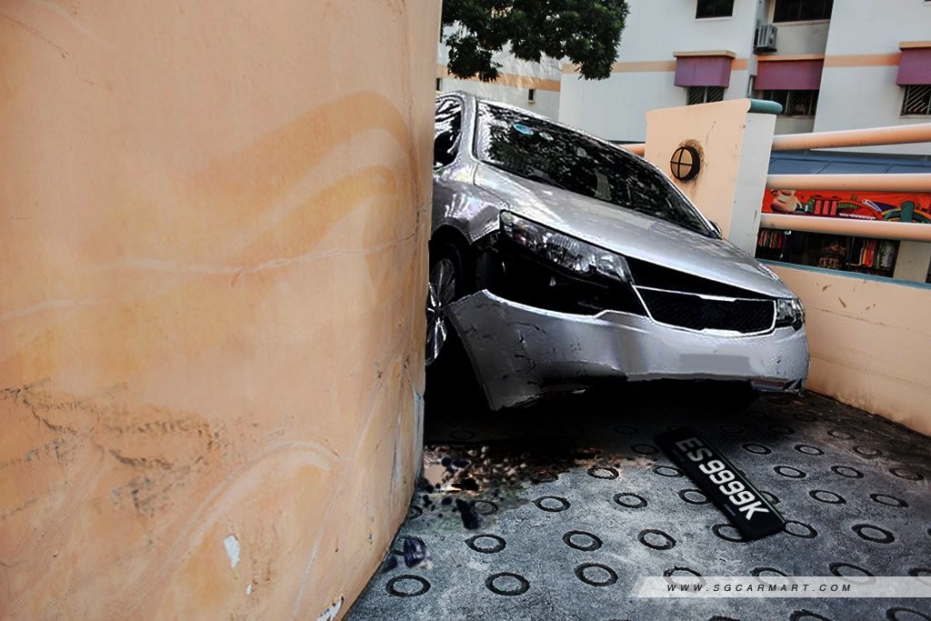 20 narrowest carparks in Singapore