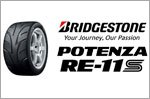 Bridgestone Potenza RE-11S - Racing tyre for high-speed performance