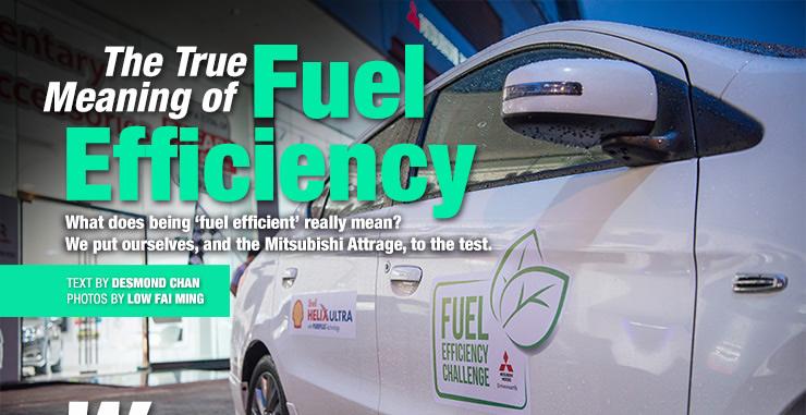 Mitsubishi Attrage Fuel Efficiency Challenge