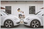 Five scenic locations for a Volkswagen Beetle pre-wedding photo shoot