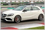 Pushing the limits of performance at the Mercedes-Benz Driving Experience
