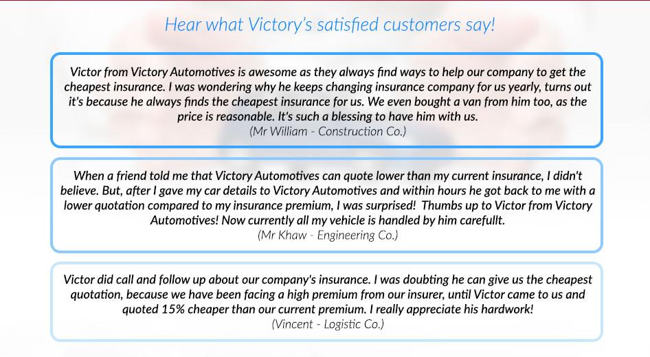 satified customers