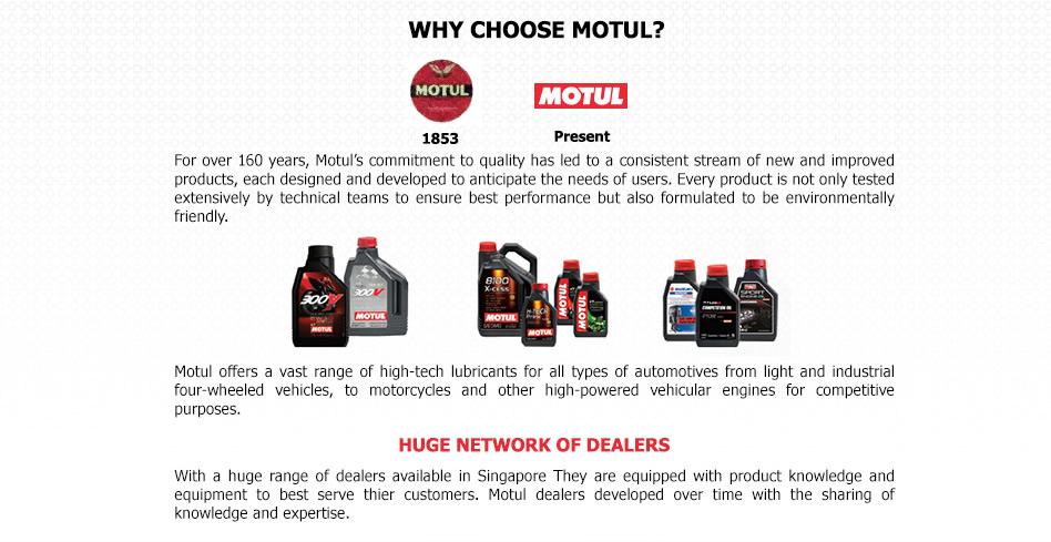 why choose motul