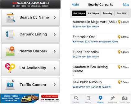 sgcarmart car park rates guide