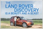 The Land Rover Discovery is a beauty and a beast