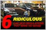 Six ridiculous car mod regulations that make no sense
