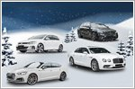Four hot cars and four Christmas stars