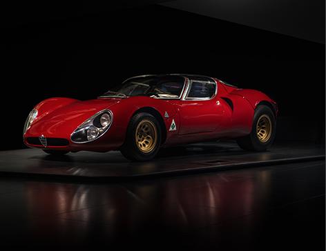 Alfa Romeo 33 Stradale front