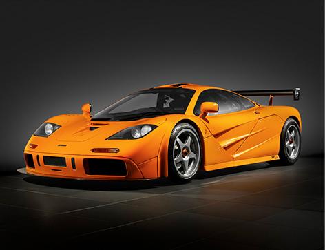 McLaren F1 LM side