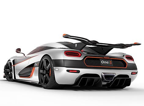 Koenigsegg One back