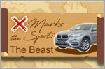 X marks the spot: Unleashing the beast