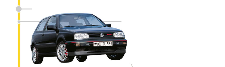 First Golf GTI with turbo engine