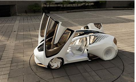 Toyota concept-i F1