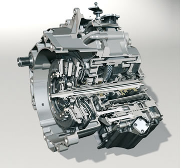 Dual-clutch transmissions